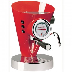 macchina per caffè espresso diva rossa bugatti