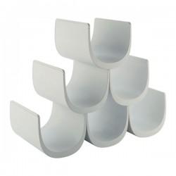 Portabottiglie bianco Noè