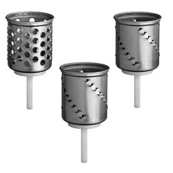 kit 3 grattugie a cilindro artisan
