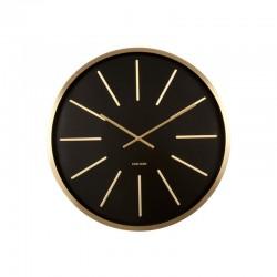 orologio da muro maxiemus ottone station nero