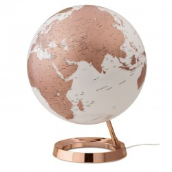 mappamondo copper inglese