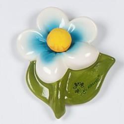 magnete fiore celeste