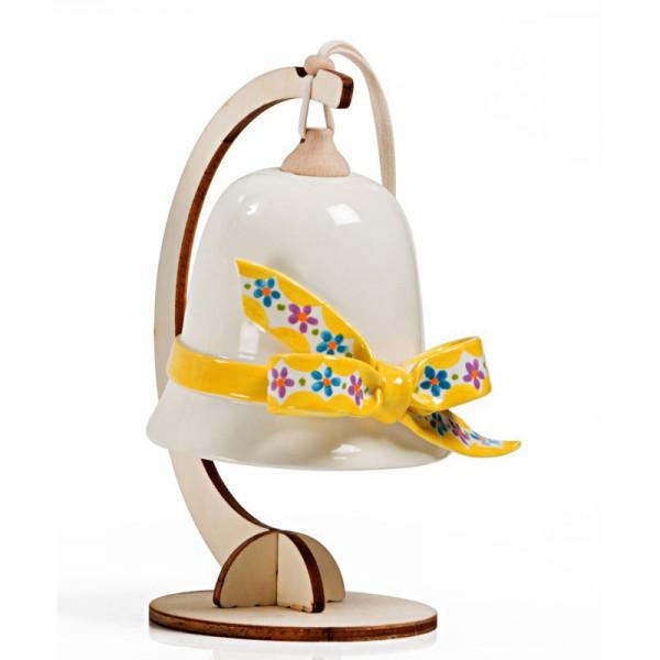 campanella grande fiocco giallo