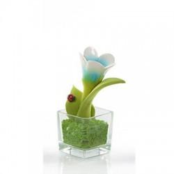 cubo fiore fiore celeste