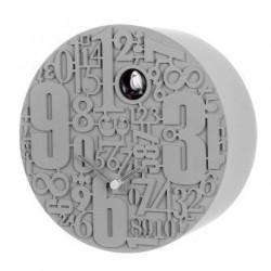 orologio cucu' metropolis grigio