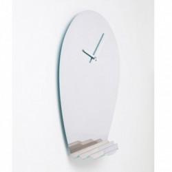 drop orologio specchiato a muro