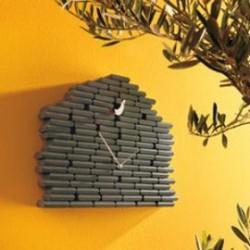 orologio parete cucu verde