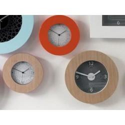 orologio rotondo ciliegio