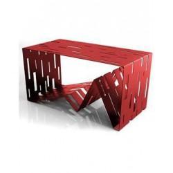 tavolino p riviste data rosso