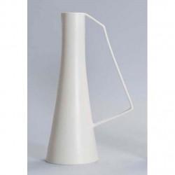 vaso brocca bianco madreperlato