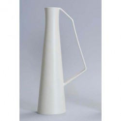 vaso brocca bianco satinato