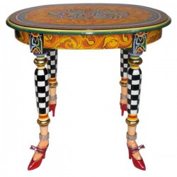 tavolino ovale versailles