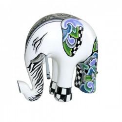 statuina elefante 25cm silver line