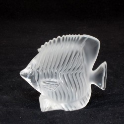 statua pesce cristallo