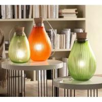 lampada verde 28cm