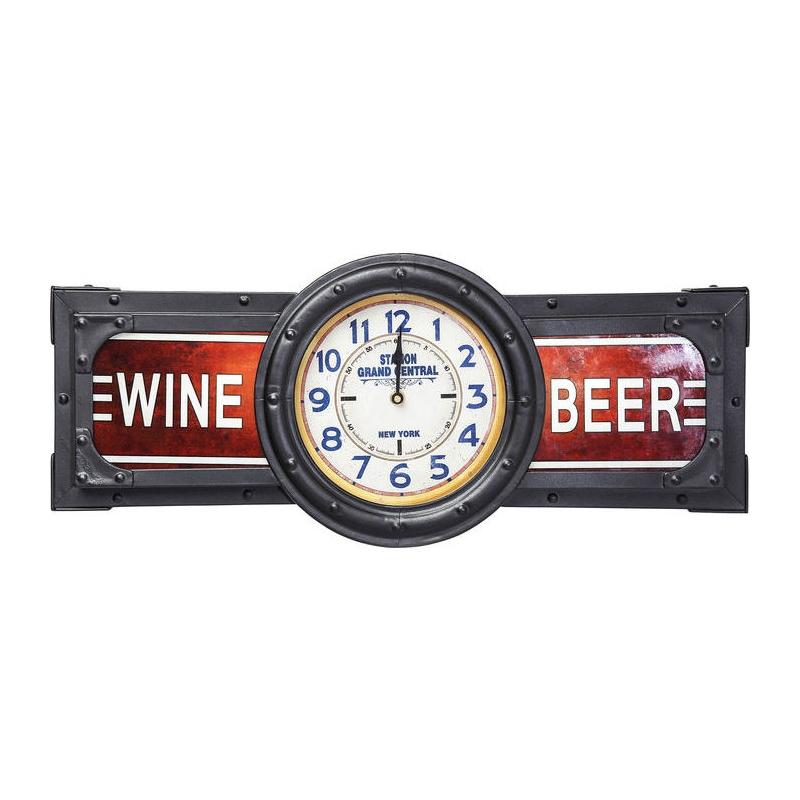orologio complementi luminosi wine beer time