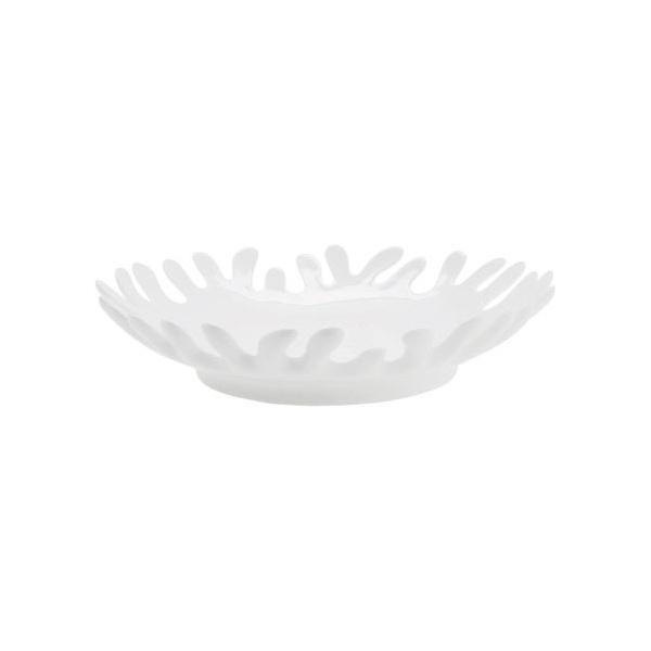 centrotavola tondo bianco basso kare