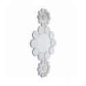 specchio ice flowers 194x102cm