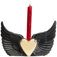 porta candela flying heart