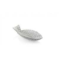centrotavola abissi argento 59cm