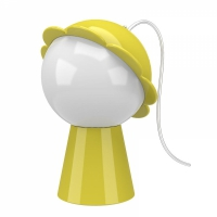 daisy lamp giallo