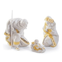 set bianco natale  re deco