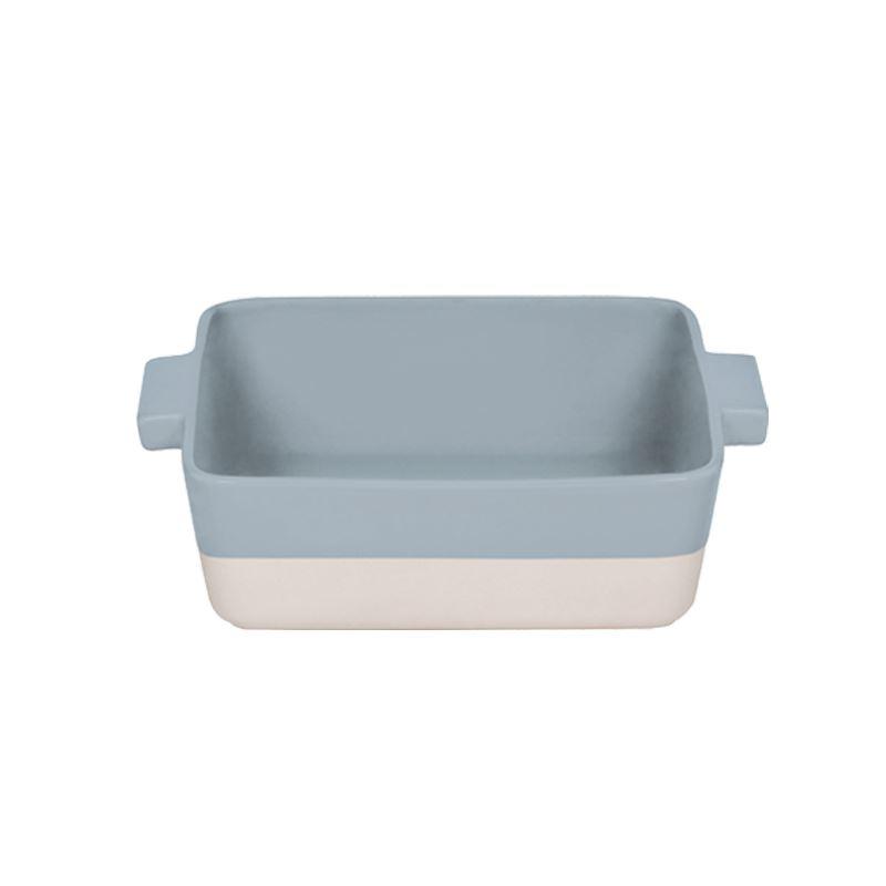 pirofila rettangolare da forno grigio