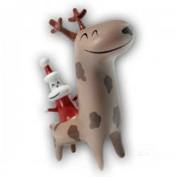 statuetta renna christmas cowboy