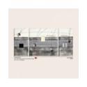 quadro 70x140 trittico grigio/nero