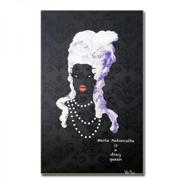 maria antonietta is a drag queen - black