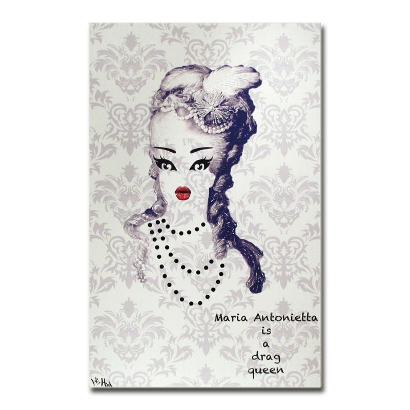 maria antonietta is a drag queen - white