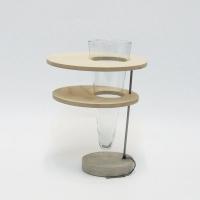 vaso disque moniek medium d22 h26 cm