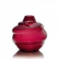 vase serpente rosso