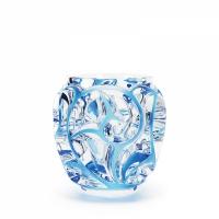 vaso azzurro tourbillons