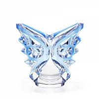 vaso ovale azzurro tourbillons