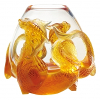 vaso ambra drago tianlong