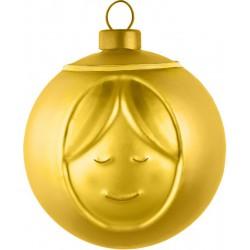 Palla albero di natale oro madonna
