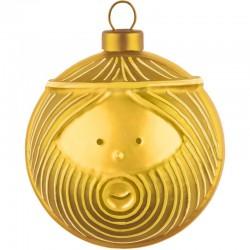 Palla albero di natale oro giuseppe