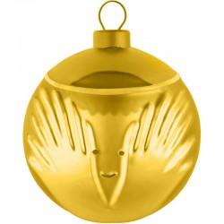 Palla albero di natale oro angioletto