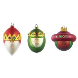 set palle albero di natale re magi