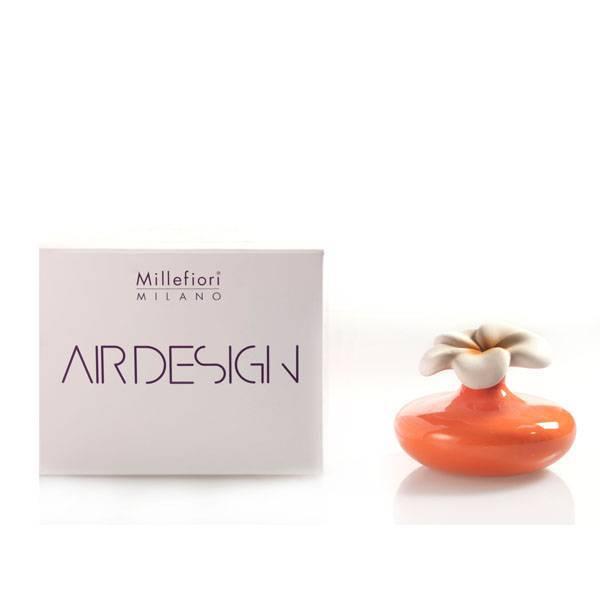 Bomboniera diffusore fiore piccolo arancione air design