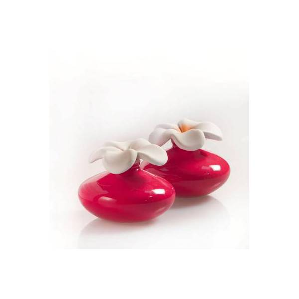 Bomboniera diffusore fiore mini rosso air design