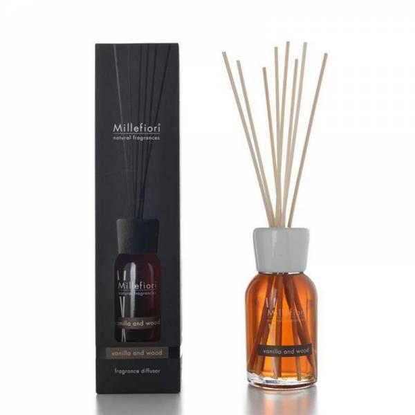 diffusore a bastoncini vanilla & wood natural 250ml