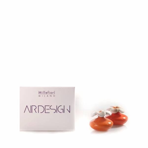 Bomboniera diffusore fiore mini arancione air design