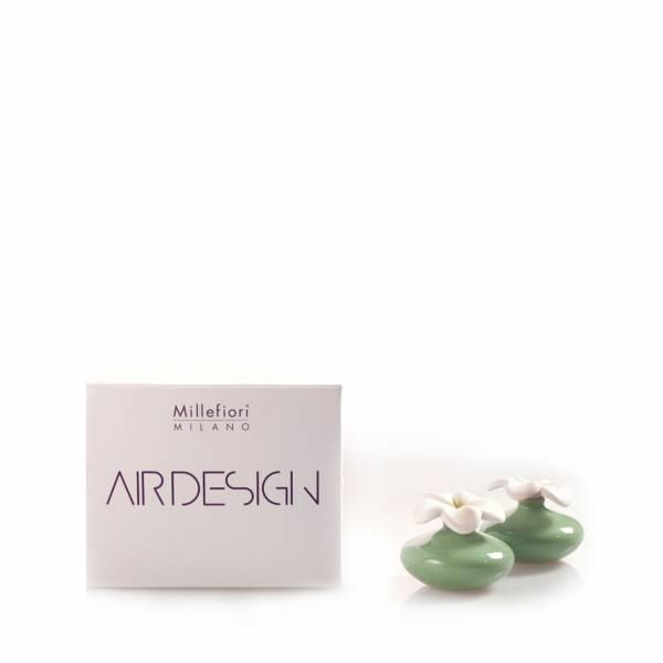 Bomboniera diffusore fiore mini verde air design