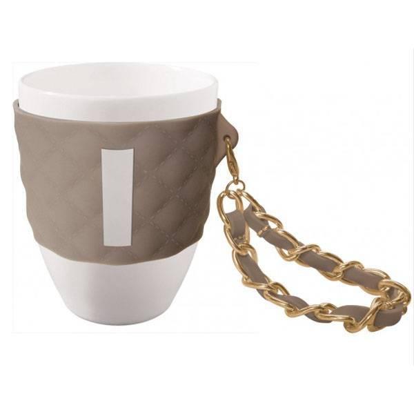 Tazza mug tortora lettera I