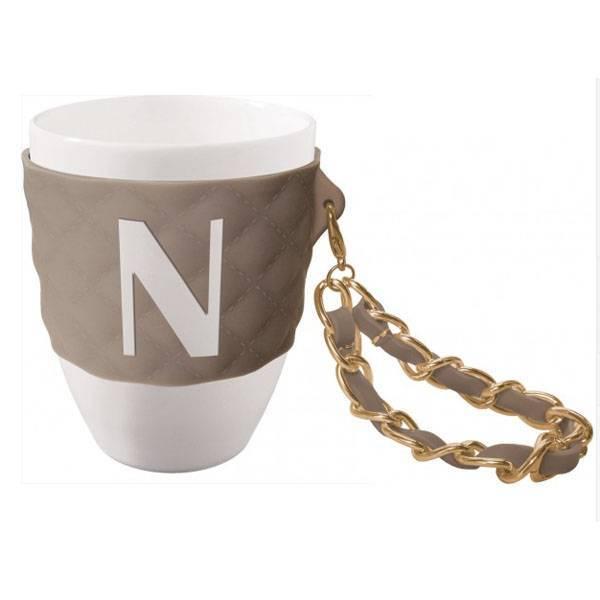 Tazza mug tortora lettera N