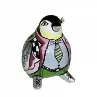 statuina pinguino silver line