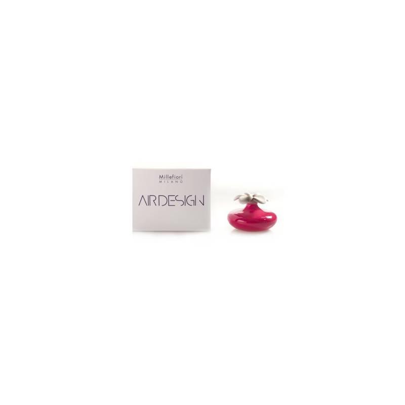 Bomboniera diffusore a fiore piccolo rosso air design