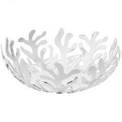 fruttiera centrotavola bianca 25cm mediterraneo